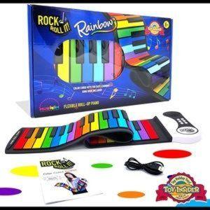 Flexible Roll-Up Piano Mukikim